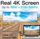 Кабель Vention HDMI-HDMI, 1 м v2.0 (VAA-M02-B100) (43388048) - зображення 5