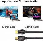 Кабель Vention HDMI-HDMI, 2 м v2.0 (VAA-B05-B200) (43387920) - зображення 5