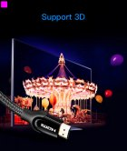 Кабель Vention HDMI-HDMI, 2 м v2.0 (VAA-B05-B200) (43387920) - зображення 14