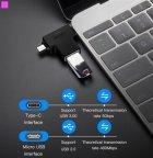 Перехідник Vention USB 3.0 Type-C / USB 3.0 OTG AF / microUSB BM (CDIB0) (64619982) - зображення 14