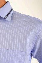 Рубашка AGER 39 Голубой 5-9060-17 - изображение 4