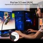 Микрофон Promate Streamer LED, USB Maroon (streamer.maroon) - изображение 5