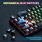 Игровой комплект для ПК 2 в 1 (клавиатура, мышь) Onikuma G26 + CW905 с подсветкой Black - зображення 3
