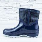 Полусапожки ботинки резиновые W-shoes 111-b утепленные непромокаемые синие 40р (25,5 см) b-608 - изображение 2