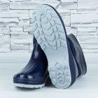 Полусапожки ботинки резиновые W-shoes 111-b утепленные непромокаемые синие 37р (23,5 см) b-608 - изображение 4