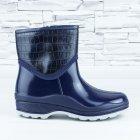 Полусапожки ботинки резиновые W-shoes 111-b утепленные непромокаемые синие 37р (23,5 см) b-608 - изображение 5