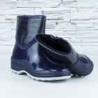 Полусапожки ботинки резиновые W-shoes 111-b утепленные непромокаемые синие 37р (23,5 см) b-608 - изображение 6