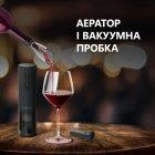 Умный штопор Prestigio Bolsena Smart Wine Opener Black (PWO101BK) - изображение 9
