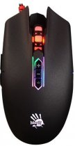 Мышь Bloody Q80 Neon XGlide USB Black (4711421931199) - изображение 1