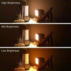 Настольный светильник ( лампа ) деревянная собака 29,5 см - изображение 5