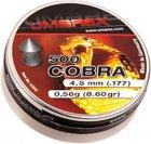 Свинцовые пули Umarex Cobra 0.56 г калибр 4.5 (.177) 500 шт (4.1916) - изображение 1