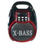 Колонка Golon RX 820 с микрофоном - портативная Bluetooth колонка с радио и светомузыкой - зображення 2
