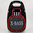 Колонка Golon RX 820 с микрофоном - портативная Bluetooth колонка с радио и светомузыкой - зображення 10
