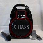 Колонка Golon RX 820 с микрофоном - портативная Bluetooth колонка с радио и светомузыкой - зображення 11