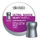 Кулі пневм JSB Heavy Ultra Shock 0,670 гр. (350 шт/уп) - зображення 3