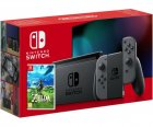 Nintendo Switch Gray (Upgraded version) + Игра The Legend of Zelda: Breath of the Wild (русская версия) - изображение 1