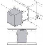 Встраиваемая посудомоечная машина Samsung DW50R4050BB/WT - изображение 20