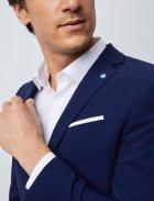 Мужской костюм фирменный в синем цвете от Pierre Cardin, размер 50 (94123/3350) - изображение 9