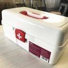Аптечка, большой органайзер для медикаментов пластиковый белый MVM PC-10 WHITE - изображение 5