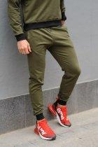 Спортивные мужские штаны Sprintom хлопок XL, хаки - изображение 3
