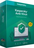 Kaspersky Anti-Virus 2020 перше встановлення на 1 рік для 2 ПК (DVD-Box, коробкова версія) - зображення 1
