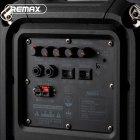 Портативная беспроводная Bluetooth акустическая система REMAX Song K Outdoor Portablae RB-X3 колонка чемодан караоке с микрофоном Black (RB-X5) - зображення 5