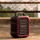 Портативная беспроводная Bluetooth акустическая система REMAX Song K Outdoor Portablae RB-X3 колонка чемодан караоке с микрофоном Black (RB-X5) - зображення 8