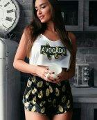 Пижама женская Lingerie Авокадо M - изображение 2
