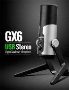Студийный USB микрофон для стриминга Takstar GX6MS - зображення 7