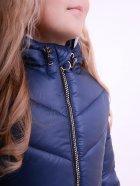 Куртка подовжена LUXIK синій k40 128 см Синий (000644012) - изображение 4