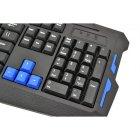 Бездротова ігрова російська клавіатура + мишка UKC HK8100 - зображення 5