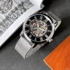 Часы наручные Forsining 1040 Silver-Black - изображение 2