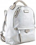 Рюкзак молодёжный Yes Weekend YW-27 22x32x12 Серебряный (5056137105816) (555888) - изображение 1