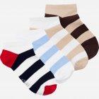 Набор носков The Pair of Socks 4P-121-STR/BX 44-46 (4 пары) Разноцветный (4820234203628) - изображение 1