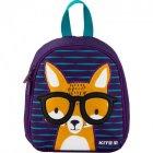 Дитячий Рюкзак Kite Smart Kids Fox 125 г 21x18x8 см 3.25 л Фіолетовий (K20-538XXS-1) - зображення 1