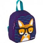 Дитячий Рюкзак Kite Smart Kids Fox 125 г 21x18x8 см 3.25 л Фіолетовий (K20-538XXS-1) - зображення 2