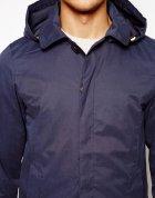 Куртка з капюшоном Pull & Bear AS456279 S (11385S) Синій - зображення 3
