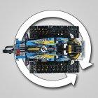 Конструктор LEGO TECHNIC Скоростной вездеход с ДУ 324 детали (42095) - изображение 8
