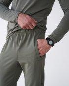 Спортивные штаны тонкие GR8 active wear модель 61т2-оливковый размер 2XL - изображение 6