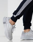 Спортивные штаны тонкие GR8 active wear модель 7т2-синий+полоска размер S - изображение 9