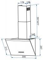 Вытяжка Minola HDN 6232 BL/INOX 700 LED - изображение 13