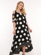 Платье VLAVI Тропикана 120602 52 Черное - изображение 3