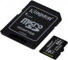 Kingston microSDXC 64GB Canvas Select Plus Class 10 UHS-I U1 V10 A1 + SD-адаптер (SDCS2/64GB) - зображення 2