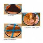 Супервпитывающий придверный коврик Clean Step Mat Серый - изображение 3