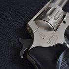 """Револьвер під патрон флобера PROFI (4.5"""", 4.0 мм), сатин-пластик - зображення 8"""