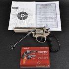 """Револьвер під патрон флобера PROFI (4.5"""", 4.0 мм), сатин-пластик - зображення 12"""