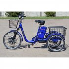 Електровелосипед (трицикл) Skybike 3-Cycle синій - зображення 3