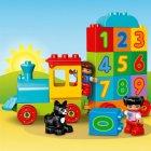 Конструктор LEGO DUPLO Поезд Считай и играй 23 детали (10847) - изображение 5