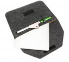 Чехол-конверт из фетра DDC для Macbook Pro 15,4''/16'' - темно - серый (rY6Bijat53) - изображение 2