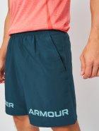 Шорты Under Armour Ua Woven Graphic Wm Short-Blu 1361433-463 M Бирюзовые (194514009571) - изображение 4